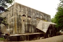 Bunker for V weapons in Eperlecques in Northern France