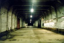 "B tunnel of the ""Zement"" (concrete) site in Ebensee, Austria"