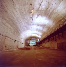 """Bunker"" in the Merkers salt mine, today known as Kaiseroda"