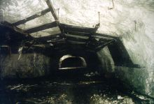 The Messerschmidt AG tunnel in Oberammergau after its opening